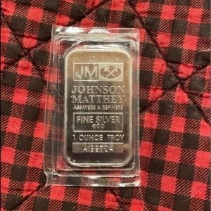 .999 fine silver bar 1 Troy oz